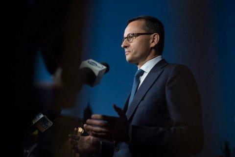Прем'єр Польщі звинуватив Путіна у спотворенні історії Другої світової війни