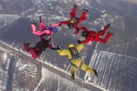 Украинские парашютисты установили мировой рекорд