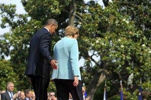 """Обама і Меркель проведуть зустріч до засідання """"Великої сімки"""""""