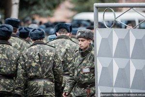 Украинские солдаты отбили попытку нападения на военчасть