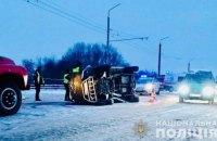 В Ивано-Франковской области в ДТП погибли два человека и пятеро получили травмы