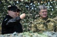 Порошенко уволил Турчинова с должности секретаря СНБО