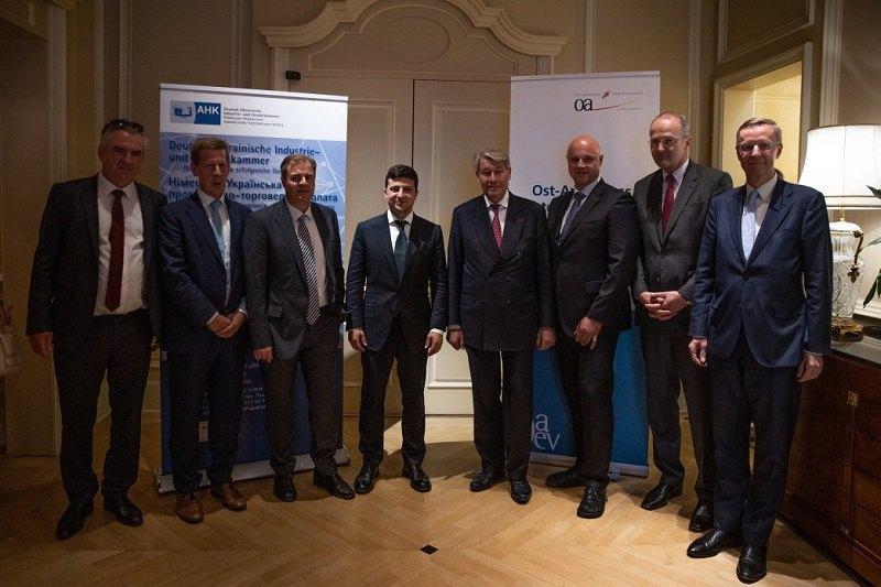 Президент Украины Владимир Зеленский провел встречу с крупным и средним бизнесом Германии.