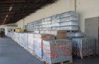 Немецкие 112 грузовиков помощи пересекли границу и едут в Киев