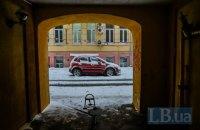 До конца суток в Киеве ожидается до 6 см снега