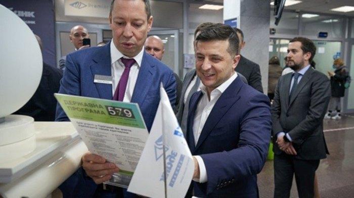 Володимир Зеленський і Кирило Шевченко