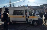 В Херсоне пресс-конференция закончилась стрельбой и вызовом полиции