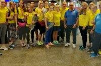 Женская сборная Украины по боксу приняла участие в красивом челлендже