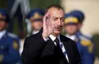 Президент Азербайджану назвав Україну близьким стратегічним партнером