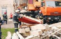 Обрушившийся дом в Луцке попытаются отстроить