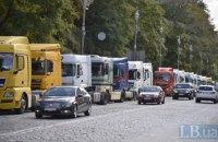 Зеленский подписал закон о повышении штрафов за перегруженные фуры