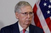"""Трамп закликав змінити лідера республіканської меншини у Сенаті та назвав його """"похмурою політичною шкапою"""""""