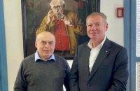 Посол України в Ізраїлі Корнійчук  провів зустріч з головою Інституту вивчення глобального антисемітизму
