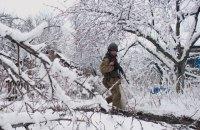 Бойовики на Донбасі зробили п'ять обстрілів з важкого озброєння