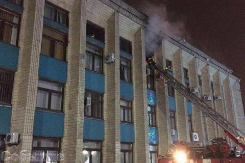 В Каменском запретили продажу и использование пиротехники после пожара в исполкоме