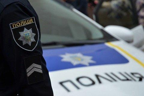 Група невідомих блокувала роботу одного з підрозділів Нацполіції в Києві