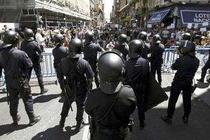 Протестуючих шахтарів у Мадриді розігнали гумовими кулями