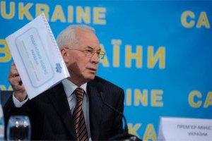 Азаров запевнив німців, що Тимошенко - не політв'язень