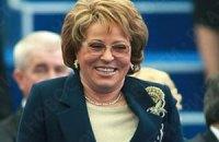 Матвиенко: Россия и Украина подпишут соглашение по газу в декабре