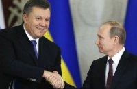Янукович не зміг відповісти на запитання, чи визнає його Путін