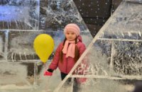 Во Львове на Рождество открыли Ice-house в стиле Евро-2012