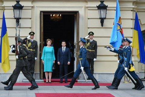 Зеленський зустрівся з президентом Словаччини