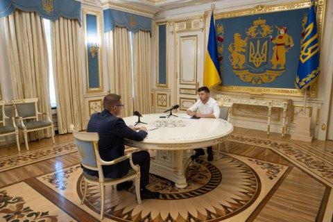 Зеленский заявил, что уволит Баканова, если узнает, что тот консультируется с Матиосом