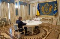 Зеленський заявив, що звільнить Баканова, якщо дізнається, що той консультується з Матіосом