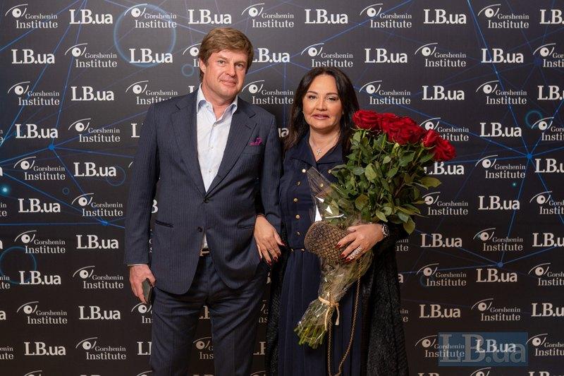 Михаил и Оксана Кавицкие, украинские бизнесмены, владельцы Helen Marlen Group