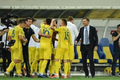 Кроме Украины еще 4 сборных Старого Света не проиграли ни одного матча в году