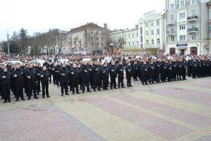 Склала присягу нова патрульна поліція в Тернополі