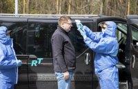 Медики виявили підвищену температуру у 40 осіб на в'їздах до Києва