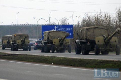 У Мінську погодили відведення озброєння калібру до 100 мм