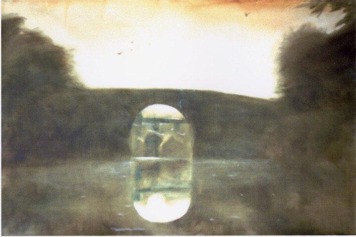 Міст. 1992. Колекція маєтку художника Олега Голосія та галереї The Naked Room
