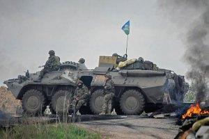 У Слов'янську позиції силовиків обстріляли з мінометів