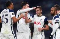 """""""Тоттенхэм"""" повторил рекорд результативности в Лиге Европы"""