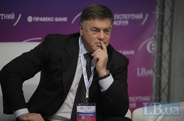 Анатолий Гиршфельд, почетный президент корпорации УПЭК, народный депутат Украины