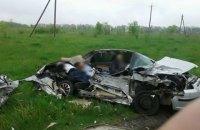 В Харьковской области столкнулись легковой и грузовой автомобили, четверо погибших