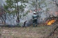 Площу пожежі у Чорнобильській зоні зменшили до 70 га