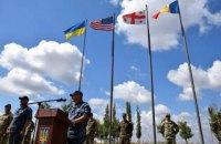 """На юге Украины завершились военные учения """"Си Бриз - 2018"""""""
