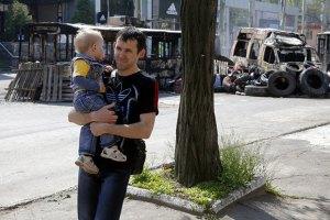 Боевики разместили свой штаб в Краматорске в доме малютки