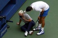 Джокович зі скандалом покинув US Open