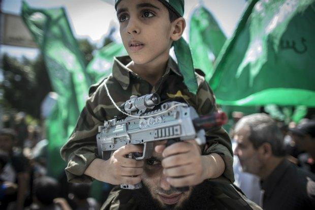 Акция в поддержку ХАМАС в Газе
