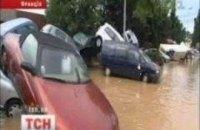 Наводнение коснулось и Франции