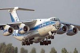 Ил-76 мог везти оружие Грузии