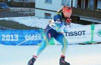 Біатлон. Українка виграла спринт на етапі Кубка IBU
