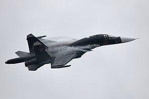 Під Воронежем перекинувся бомбардувальник Су-34