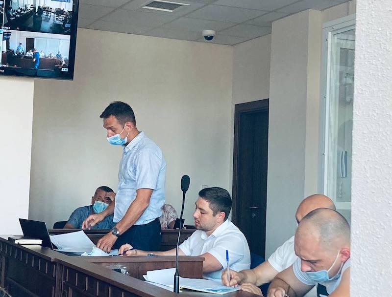 Адвокати обвинувачених Стефан Решко, Олександр Горошинський та Ігор Варфоломєєв