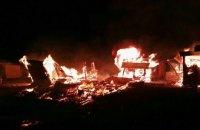 Во Франции после массовой драки сгорел дотла лагерь беженцев