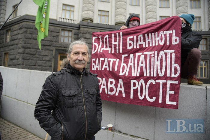 Виталий Кононов, лидер Партии зеленых